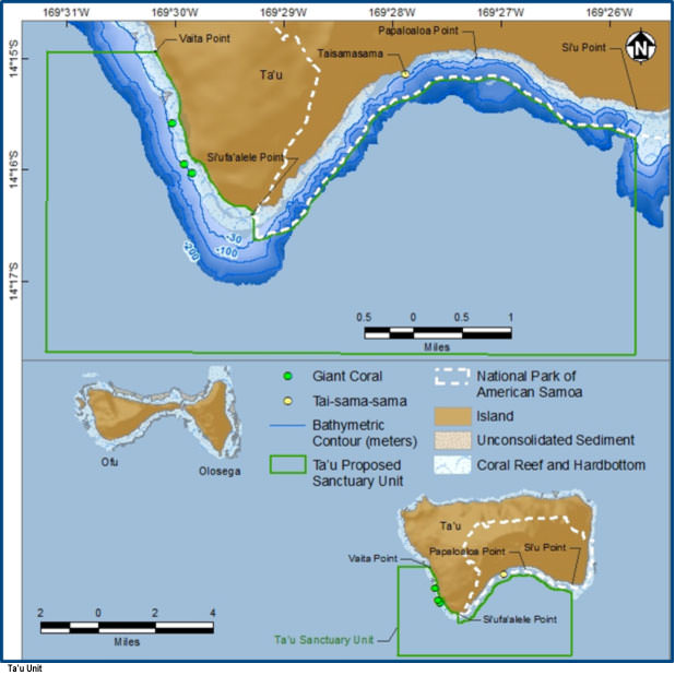 National Marine Sanctuary Of American Samoa About The Sanctuary - Us eez map